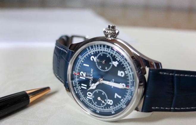 Montblanc 1858 Chronograph Tachymeter replica