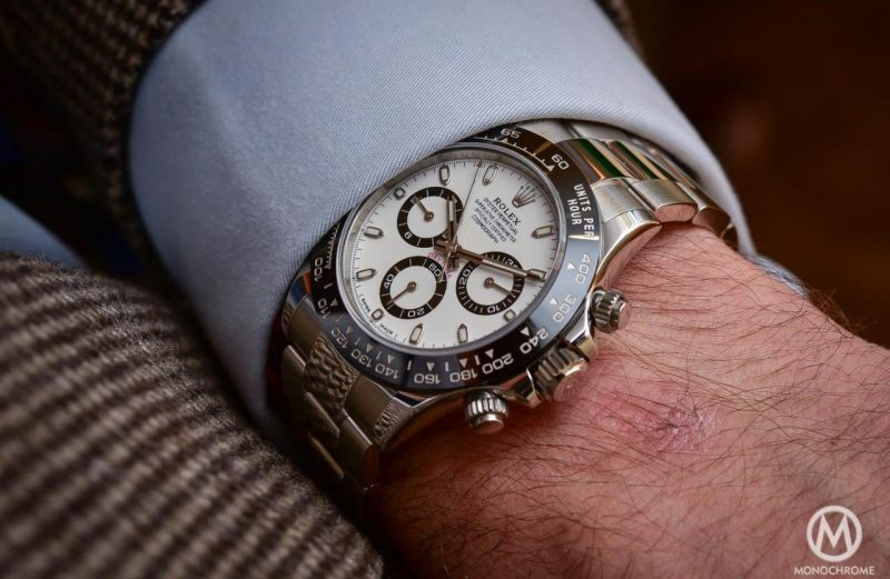 Top 5 Watches from Baselworld 2016 - Rolex-Daytona-116500LN-in-steel-Cerachrom-ceramic-black-bezel-7