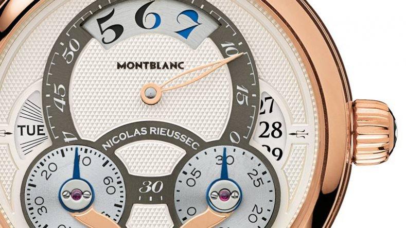 MontBlanc Nicolas Rieussec Rising Hours Chronograph Replica Watch