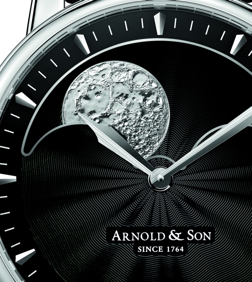 Steel Arnold & Son HM Perpetual Moon copy watch