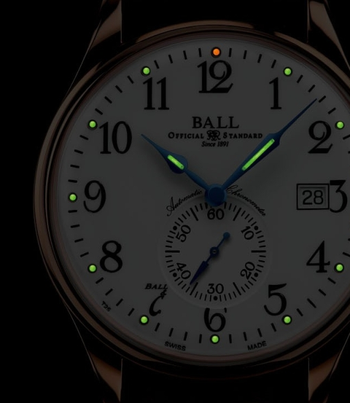 Ball Watch Trainmaster Standard Time Automatic watch