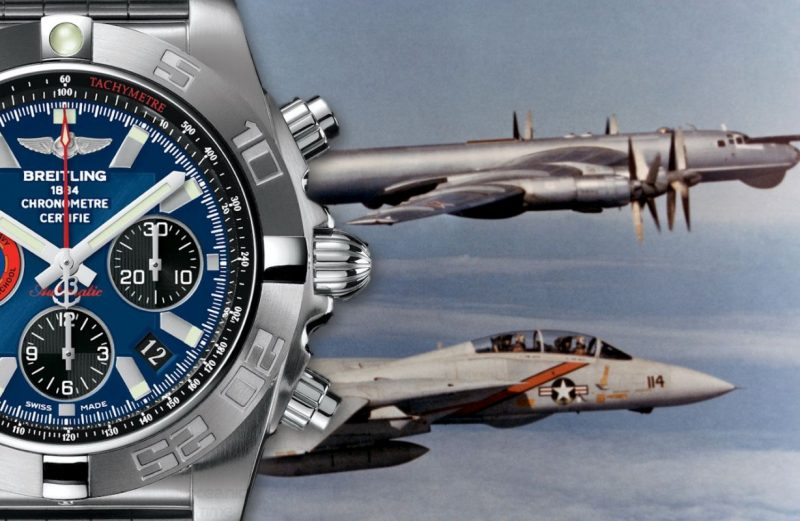 Presenting The Amazing Mens Breitling Chronomat 44 Top Gun Watch Replica