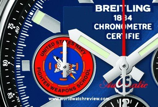Breitling Chronomat 44 TOPGUN Automatic Chronograph watch replica