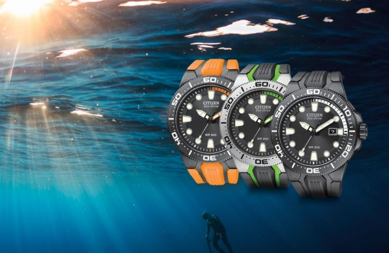 Reviewing The Citizen Scuba Fin Eco Drive 200M Solar-Powered Diver Watch Replica