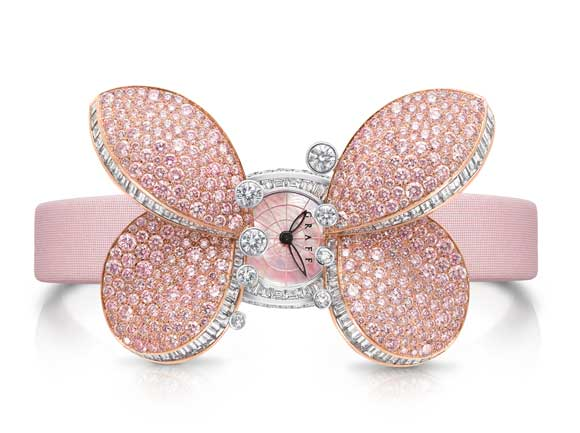 Reviewing The Elegant And Attractive Ladies' Graff Princess Butterfly Watch Replica