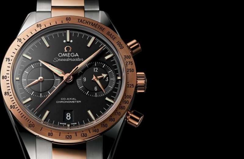 Presenting The Swiss Omega Speedmaster 57 Two-Tone Automatic Watch Ref. 331.22.42.51.01.001