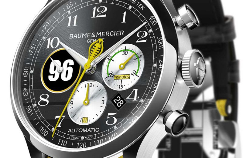 Baume & Mercier Capeland Shelby Cobra watch