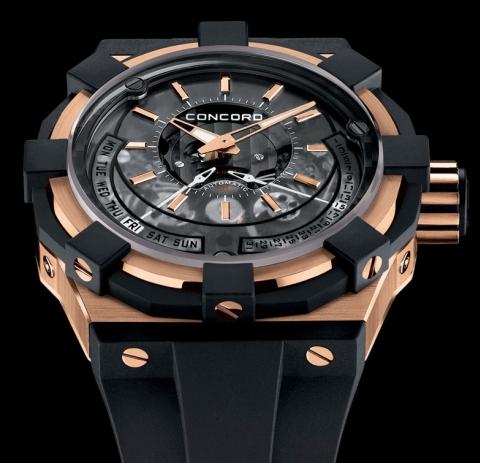 Concord C1 Biretrograde watch replica