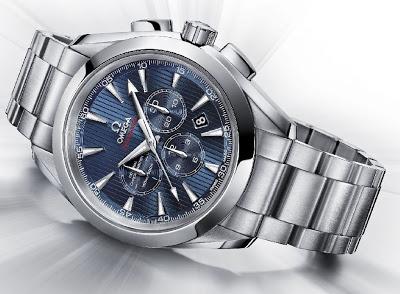 Omega Seamaster Aqua Terra chronograph replica watch