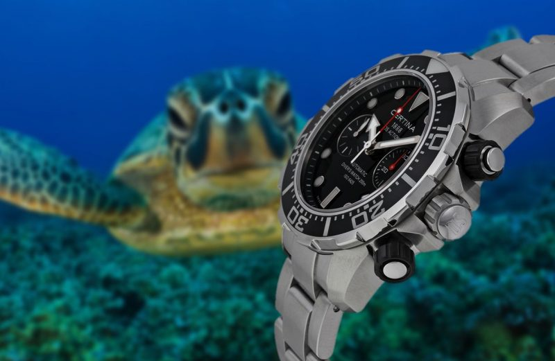 Introducing The New Sporty Certina DS Action Diver 200M Automatic Chronograph Watch