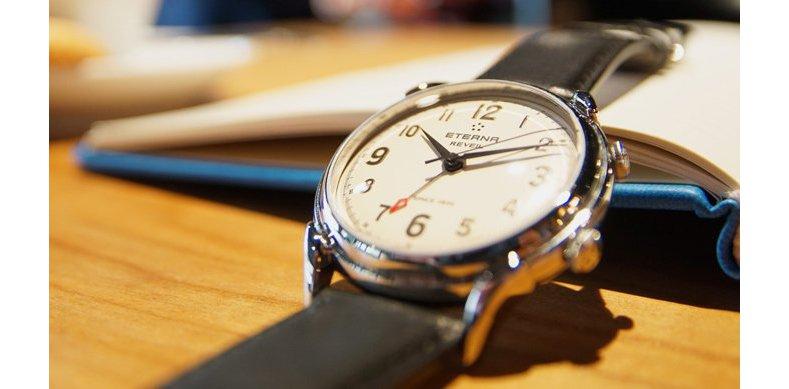 Review The Modern Update Eterna 1948 For Him Réveil Steel Replica Watch