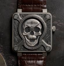 Bell&Ross BR01 Burning Skull replica